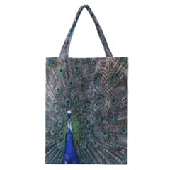Peacock Four Spot Feather Bird Classic Tote Bag