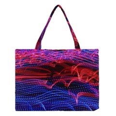 Lights Abstract Curves Long Exposure Medium Tote Bag