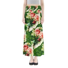 Floral Collage Maxi Skirts