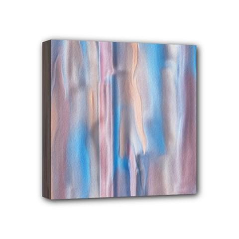 Vertical Abstract Contemporary Mini Canvas 4  x 4