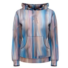 Vertical Abstract Contemporary Women s Pullover Hoodie