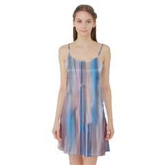 Vertical Abstract Contemporary Satin Night Slip