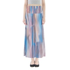 Vertical Abstract Contemporary Maxi Skirts