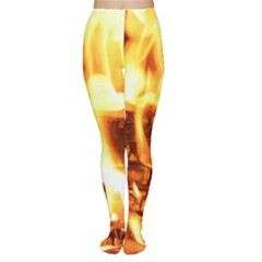 Fire Flame Wood Fire Brand Women s Tights