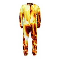 Fire Flame Wood Fire Brand OnePiece Jumpsuit (Kids)