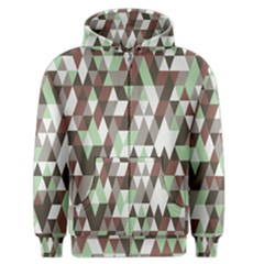 Pattern Triangles Random Seamless Men s Zipper Hoodie