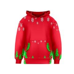 Merry Christmas Kids  Pullover Hoodie