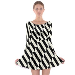 Hide And Seek Malika Long Sleeve Skater Dress