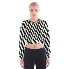 Hide And Seek Malika Women s Cropped Sweatshirt