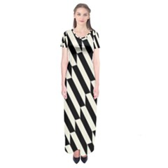 Hide And Seek Malika Short Sleeve Maxi Dress
