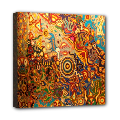 Ethnic Pattern Mini Canvas 8  x 8