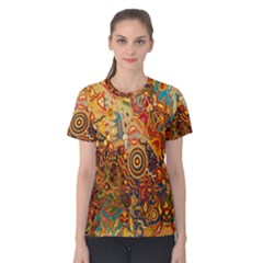 Ethnic Pattern Women s Cotton Tee