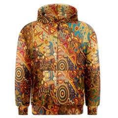 Ethnic Pattern Men s Zipper Hoodie