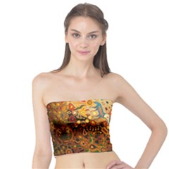 Ethnic Pattern Tube Top