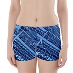 Mobile Phone Smartphone App Boyleg Bikini Wrap Bottoms