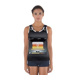 Interior Car Vehicle Auto Women s Sport Tank Top