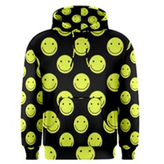 Happy Face Pattern Men s Pullover Hoodie