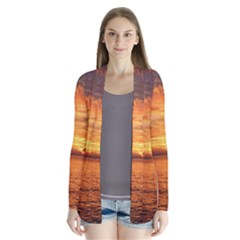 Sunset Sea Afterglow Boot Cardigans