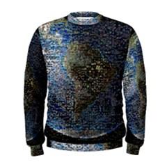 World Mosaic Men s Sweatshirt