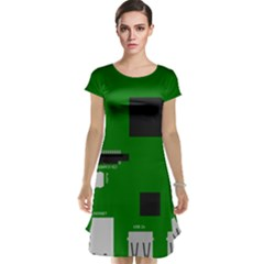 Raspberry Pi 3 Vector Cap Sleeve Nightdress