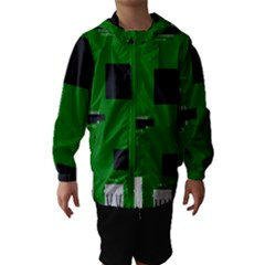 Raspberry Pi 3 Vector Hooded Wind Breaker (Kids)