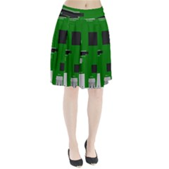 Raspberry Pi 3 Vector Pleated Skirt