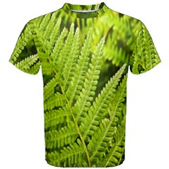 Fern Nature Green Plant Men s Cotton Tee