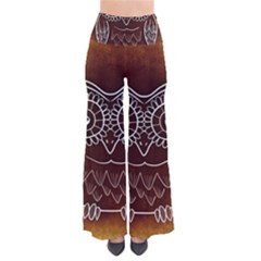 Owl Abstract Funny Pattern Pants