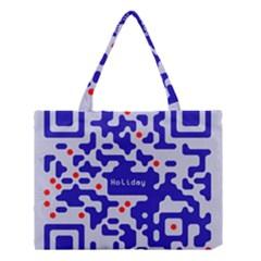 Qr Code Congratulations Medium Tote Bag