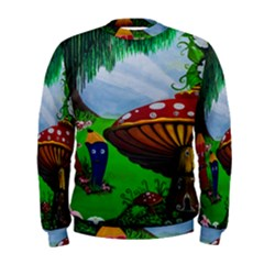 Kindergarten Painting Wall Colorful Men s Sweatshirt