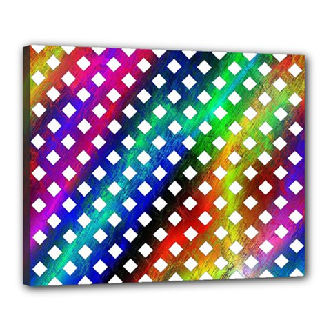 Pattern Template Shiny Canvas 20  x 16