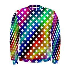Pattern Template Shiny Men s Sweatshirt