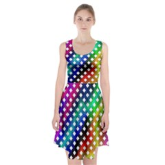 Pattern Template Shiny Racerback Midi Dress
