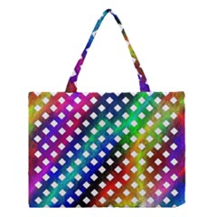 Pattern Template Shiny Medium Tote Bag
