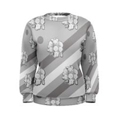 Stripes Pattern Background Design Women s Sweatshirt