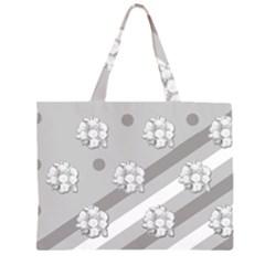 Stripes Pattern Background Design Large Tote Bag