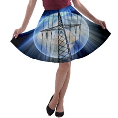 Energy Revolution Current A-line Skater Skirt
