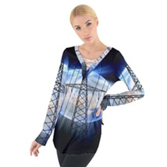 Energy Revolution Current Women s Tie Up Tee