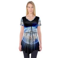 Energy Revolution Current Short Sleeve Tunic