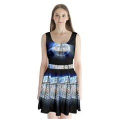 Energy Revolution Current Split Back Mini Dress