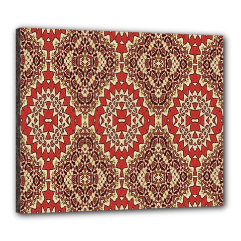 Seamless Carpet Pattern Canvas 24  x 20
