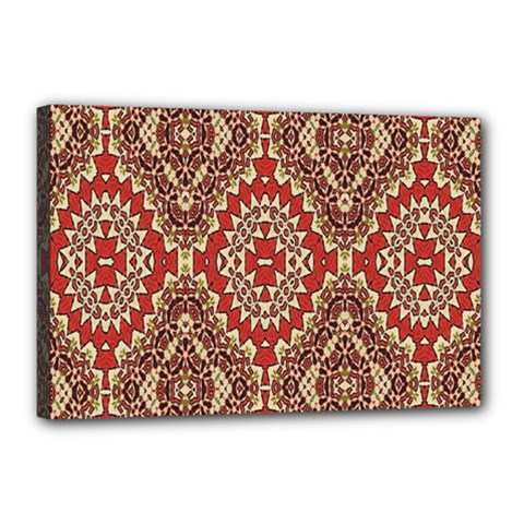 Seamless Carpet Pattern Canvas 18  x 12