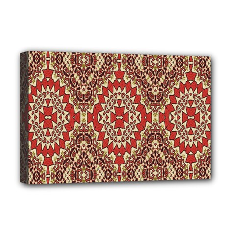 Seamless Carpet Pattern Deluxe Canvas 18  x 12