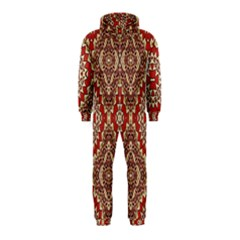 Seamless Carpet Pattern Hooded Jumpsuit (Kids)