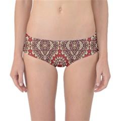 Seamless Carpet Pattern Classic Bikini Bottoms