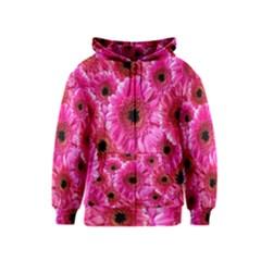 Gerbera Flower Nature Pink Blosso Kids  Zipper Hoodie