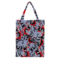 Dragon Pattern Classic Tote Bag