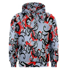 Dragon Pattern Men s Pullover Hoodie