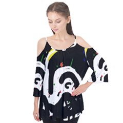 Abstraction Flutter Tees