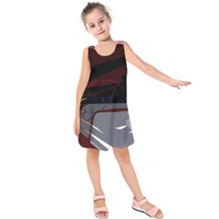 Abstraction Kids  Sleeveless Dress